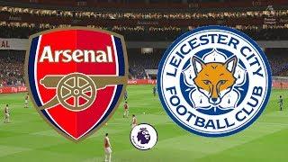 Premier League 2018/19 - Arsenal Vs Leicester City - 22/10/18 - FIFA 19
