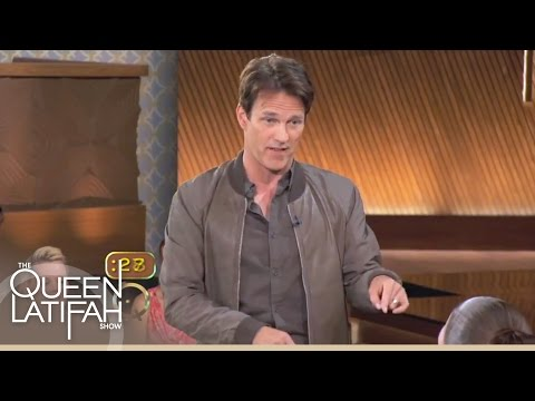 """Stephen Moyer Plays """"Forbidden: Monster Edition"""" on The Queen Latifah Show"""