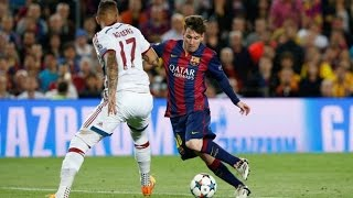 Messi-Espectacular gol al Bayern(Relato emocionante de Jorge Ramos)