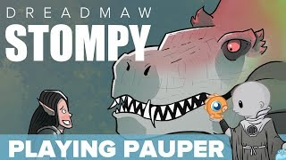 Playing Pauper: Dreadmaw Stompy (Pauper, Magic Online)