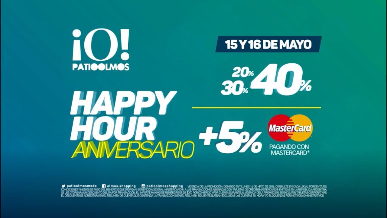 Happy Hour Aniversario // Patio Olmos