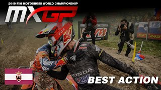 Antonio Cairoli and Tim Gajser Rumble in Trentino - MXGP of Trentino 2019 #Motocross