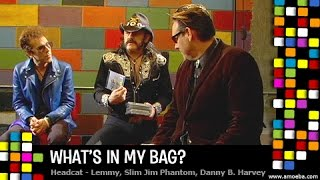 HeadCat (Lemmy, Slim Jim Phantom & Danny B. Harvey) - What's In My Bag?