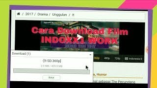 Gambar cover CARA MUDAH DOWNLOAD FILM DI INDOXXI !