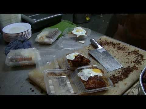 Nasi Lemak + Fried Indian Chicken, Bumbung Nasi Lemak