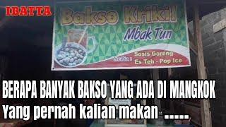 WOW..SATU MANGKOK berisi 40 BAKSO KRIKIL | Indonesia streetfoo…