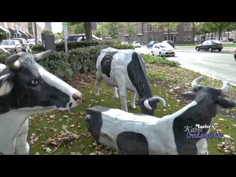 """Cows Art in the City Rotterdam"" ""Sculpture"" ""Sculptures"" ""CreationsPlay Art"""