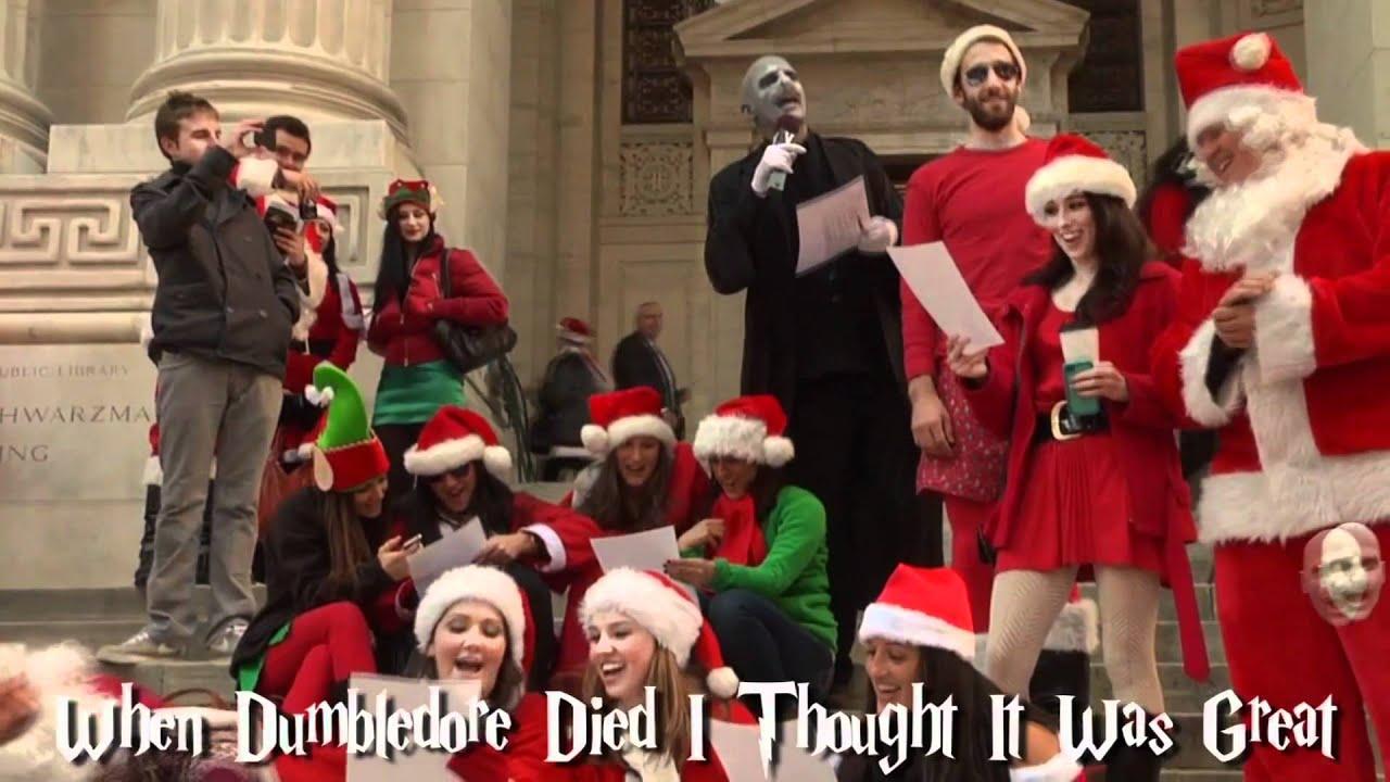 Voldemort Christmas Carols - YouTube