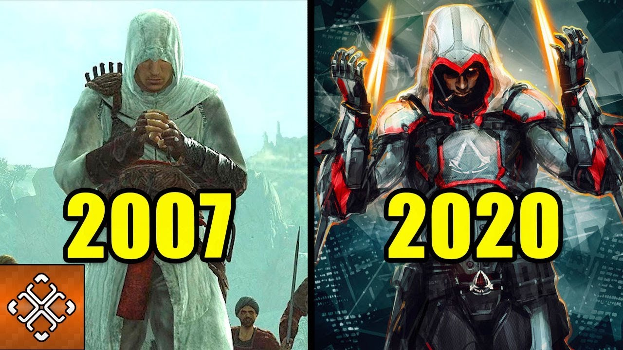 Evolution Of Assassin's Creed Games 2007 - 2020 - YouTube