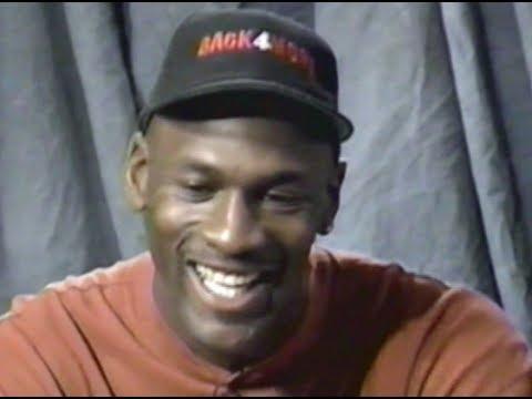 Michael Jordan - United Center debut (pre-game): Chicago Bulls v Orlando Magic [Bulls Eye] 1995