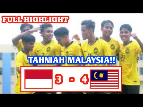Download Indonesia U18 VS Malaysia U18 (3-4) AFF U18 2019