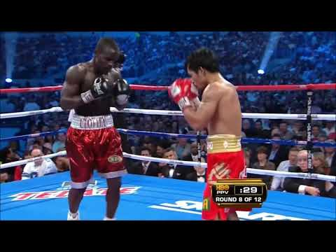 Manny Pacquiao Vs Joshua Clottey - Highlights
