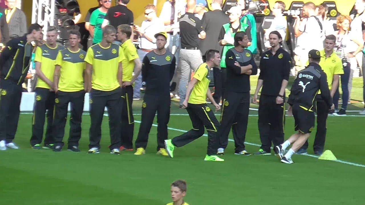 Marco Reus brutales Foul an Kevin Großkreutz
