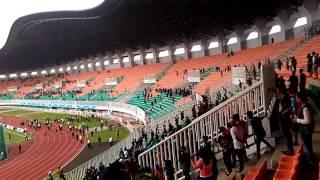 Rusuh Suporter JABAR VS DKI PON XIX JABAR