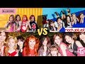 KPOP Girl Group's Vocal High Note Battle!!