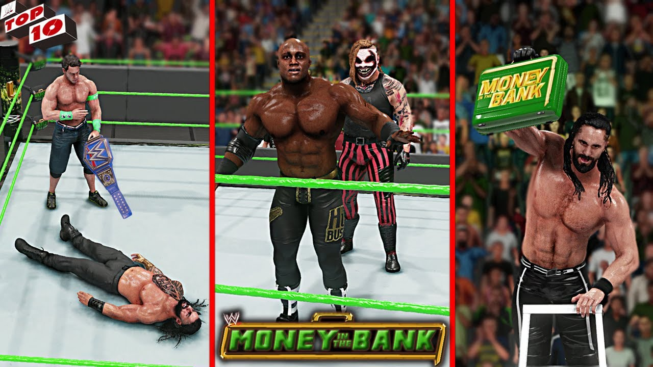 WWE Top 10 Money In The Bank 2021 Predictions! WWE 2K20