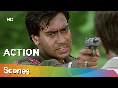Best Actions Scenes From Kachche Dhaage (HD) - Ajay Devgn - Saif Ali Khan - Bollywood Action Movie