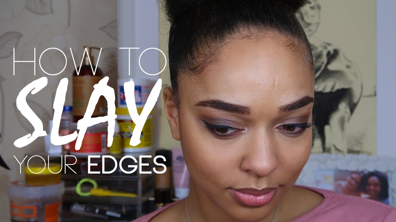 how to style baby hair how to slay your edges styling my baby hair bea tetteh 2368