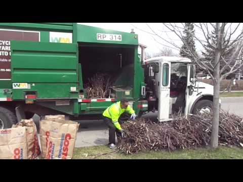 Recycling Yard Waste Toronto Canada
