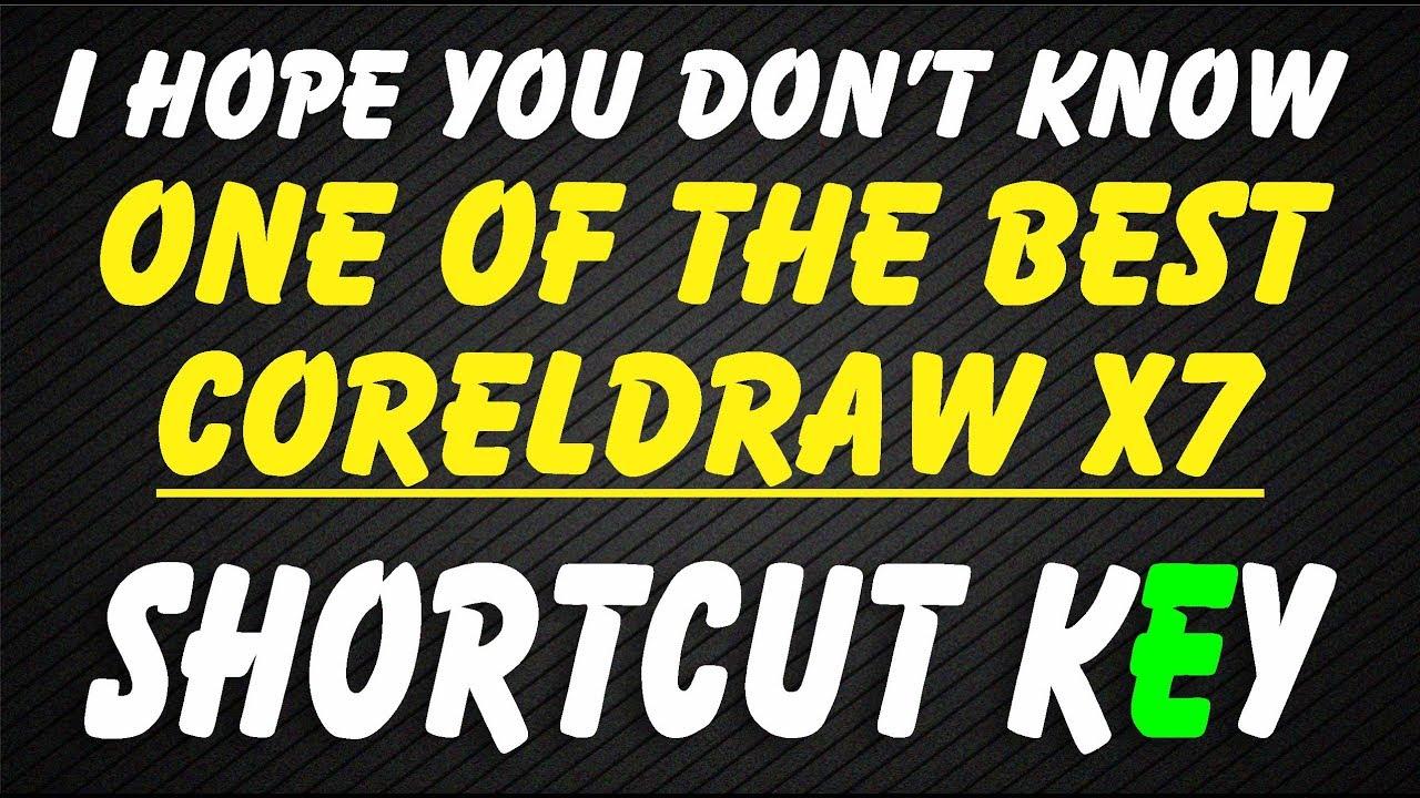 Corel Draw X7 Shortcut Keys Pdf