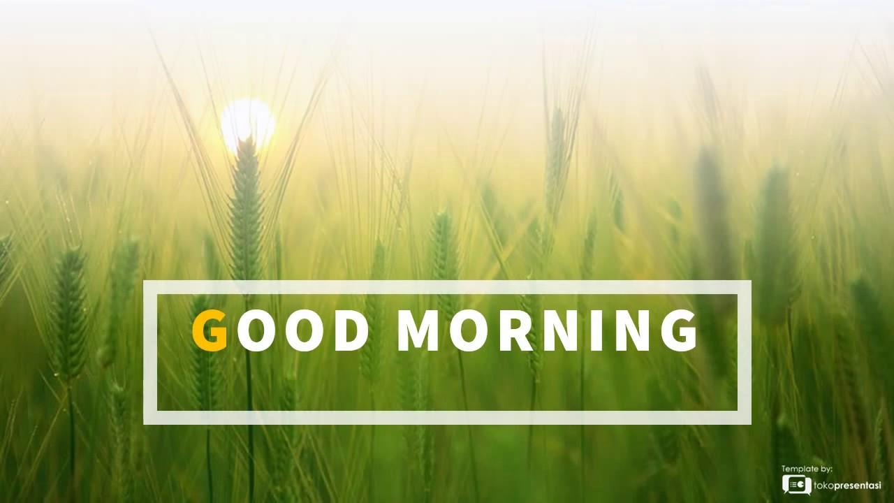 template powerpoint gratis bg 001 slide ppt good morning 1
