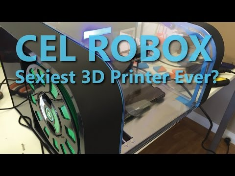 Sexiest 3D Printer Ever??? The CEL Robox - 2015
