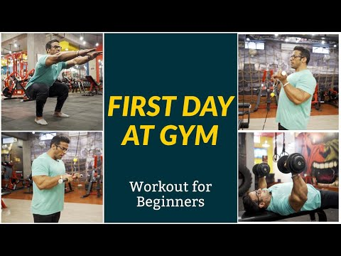 First Day at Gym | Workout for Beginners | Yatinder Singh