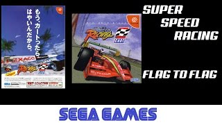 Super Speed Racing - スーパースピード・レーシング aka Flag to Flag (Quick Gameplay) Dreamcast
