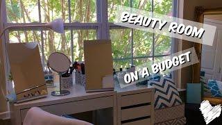 beauty room on a budget   lia lavon