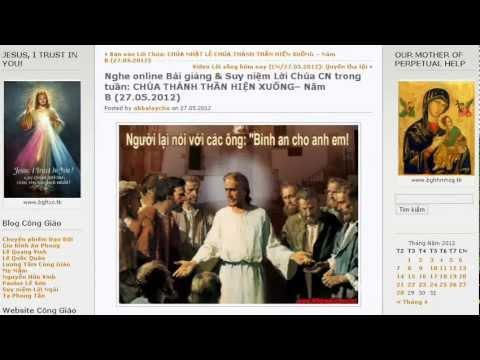 CN CHÚA THÁNH THẦN Hiện Xuống _ Gm. N.V. Khảm (Bài giảng online)