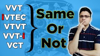What is Variable Valve Timing ?   Are VVT , VTVT , VVT-i , iVTEC All Same?   Hindi