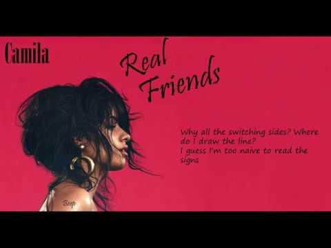 Real Friends - Camila Cabello (Lyrics)