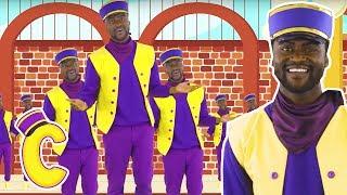 Choones The Train Driver Sings Steam Train Song With Lyrics 🚋 Songs For Kids - New Nursery Rhymes