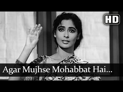 Agar Mujhse Mohabbat Hai (HD) - Aap Ki Parchhaiyan Song - Dharmendra - Supriya Choudhury Mp3