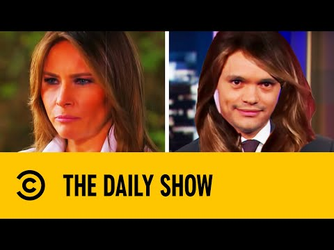 Trevor's Hilarious Melania Trump Impression | The Daily Show With Trevor Noah