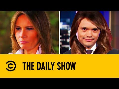 Trevor's Hilarious Melania Trump Impression | The Daily Show With Trevor Noah