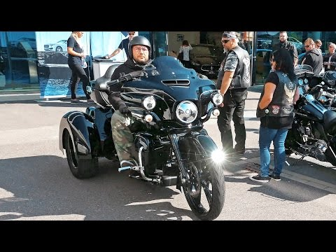 Harley Davidson in Germany 4K Stuttgart open house Motorworld Böblingen. Встреча байкеров. ..🏍🏍🏍