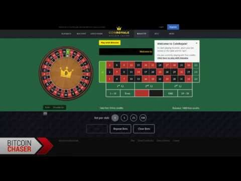 Coin Royale Review - Bitcoin Roulette, Blackjack, Dice And Baccarat - Bet With Btc