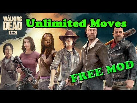 FREE! The Walking Dead No Mans Land Ver. 3.0.2.3 MOD APK   Unlimited Moves  