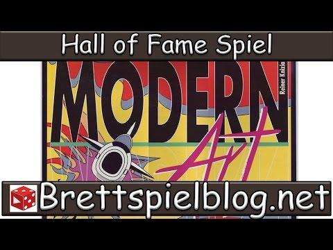 Hall of Fame: Modern Art von Reiner Knizia - Brettspielblog.net