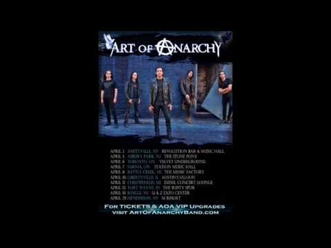 Art of Anarchy tour announced - Death Angel to write in the fall - Labyrinth debut new song!