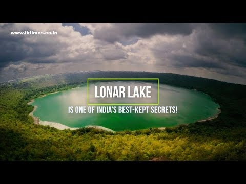 52,000 year old Lonar crater lake: 10 interesting facts