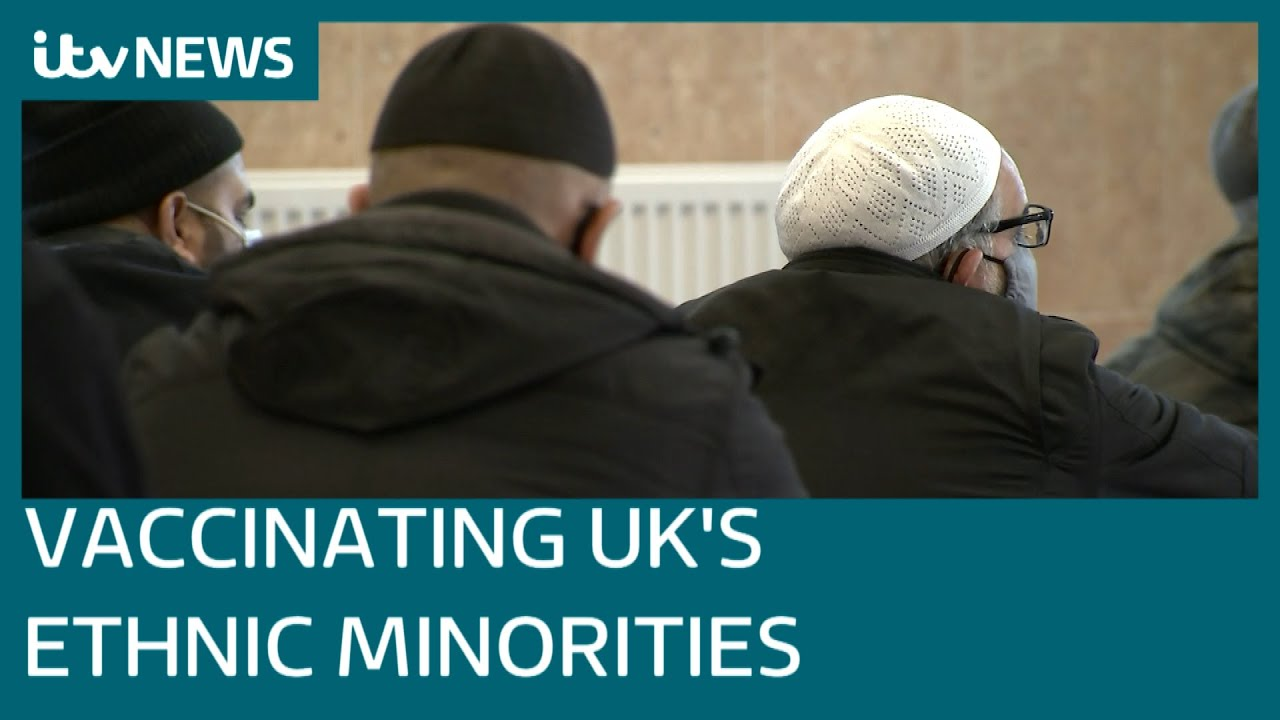 'Matter of life and death': The urgency to vaccinate vulnerable ethnic minorities | ITV News