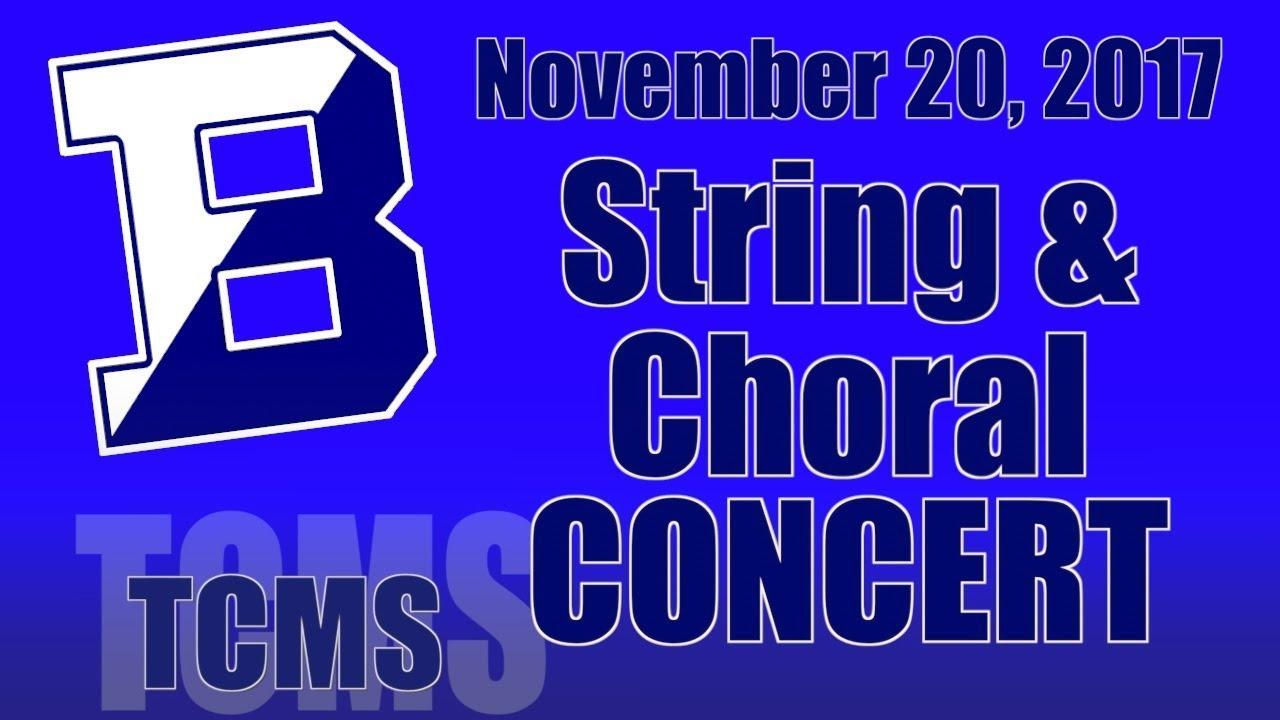 TCMS Winter Concert November 20. 2017 - YouTube