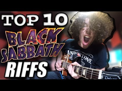 Top 10 Black Sabbath Riffs