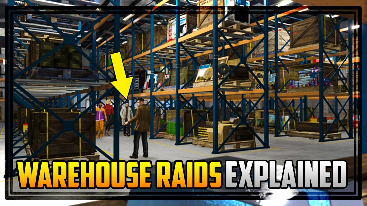 GTA 5 'WAREHOUSE RAIDS' EXPLAINED! How They Happen, Do You Lose Stock &  MORE!