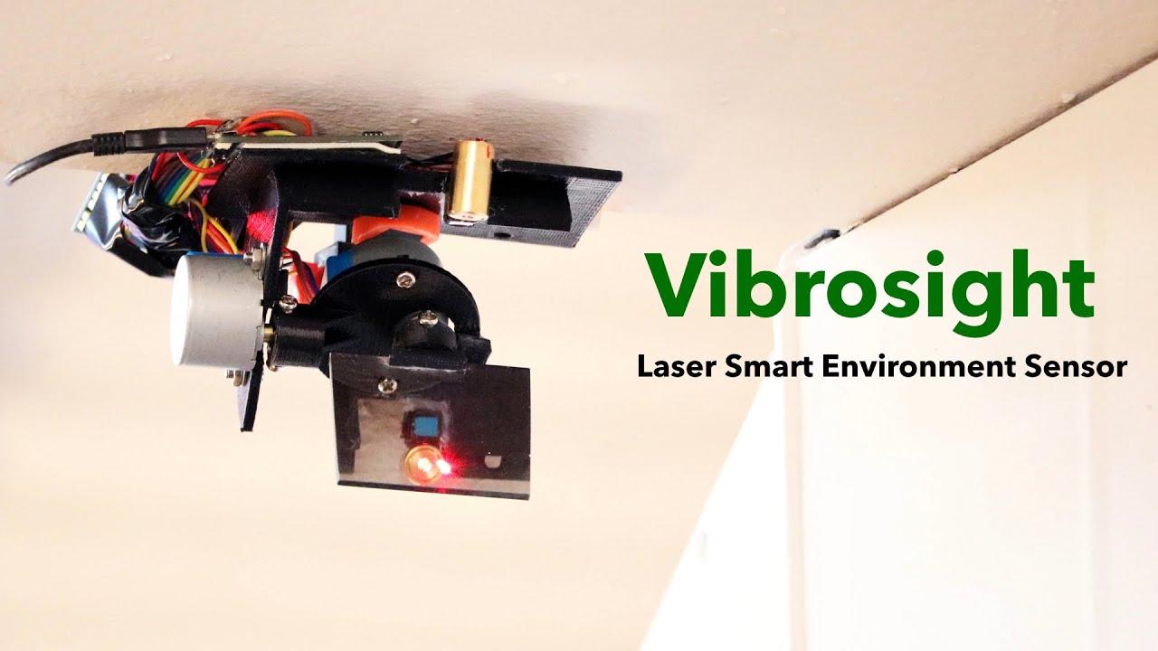 Vibrosight: Long-Range Vibrometry for Smart Environment Sensing
