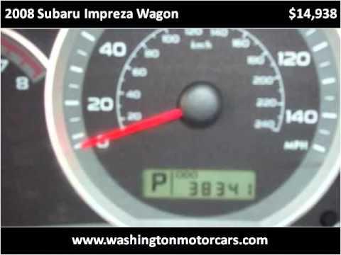 2008 Subaru Impreza Wagon Used Cars Norwood MA