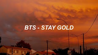 Download lagu BTS (방탄소년단) 'Stay Gold' Easy Lyrics