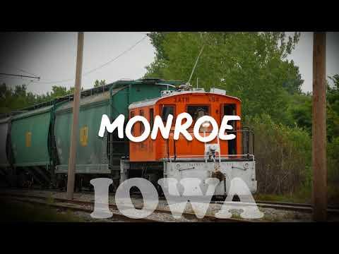 Pronounce of MONROE  Iowa U S